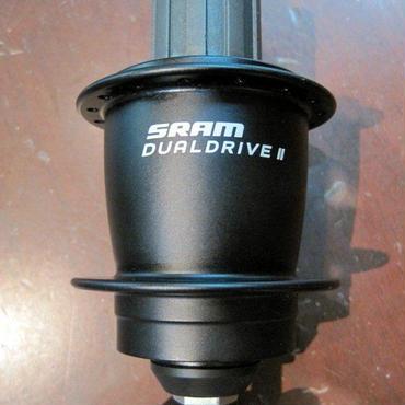 SRAM Dual Drive II 20インチ(406) 完組みリアホイールセット