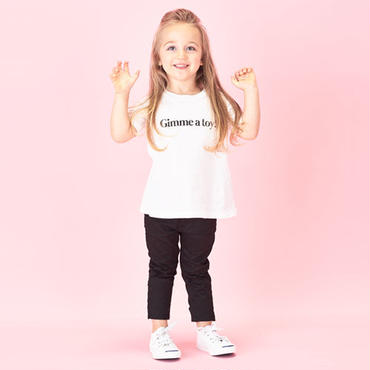 Girls 親子で着ると会話になるメッセージTシャツ