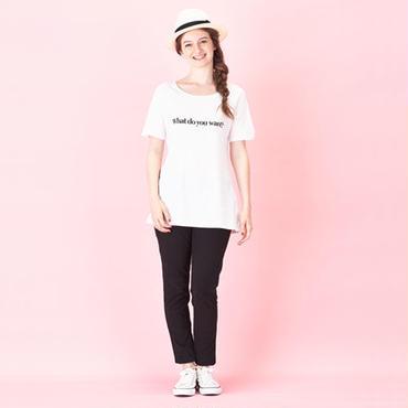 Ladies 親子で着ると会話になるメッセージTシャツ