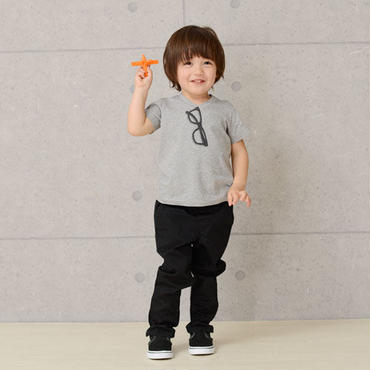 Kids 眼鏡トロンプルイユTシャツ