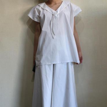 ALL WHITE 【セーラーカットソー】