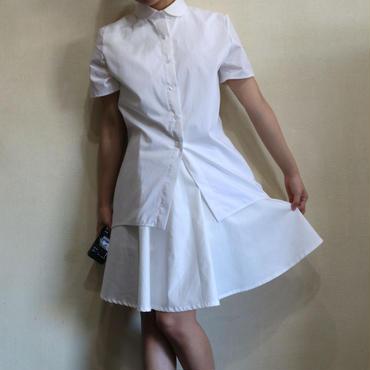 ALL WHITE 【ロングシャツ】