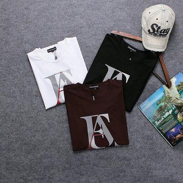アルマーニ新作 Armani半袖 夏人気Tシャツ カジュアル