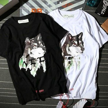 オフホワイト新入荷 夏大人気 Tシャツ カジュアル半袖 Off-White