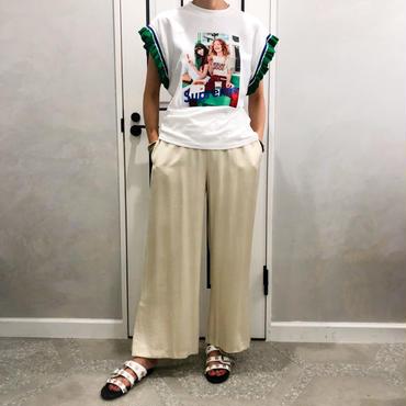 frill pop tshirt