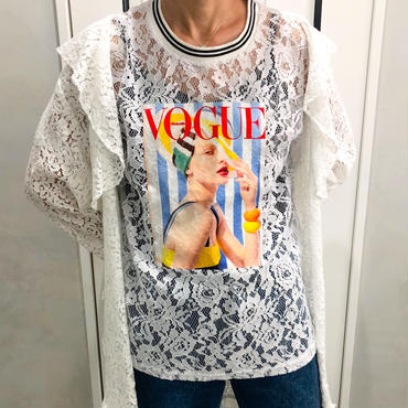 VOGUE lace tops