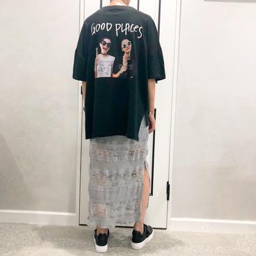 back photo tshirt (black)