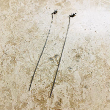 long chain pierce(silver)