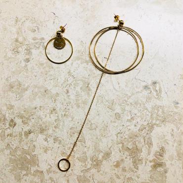 asymmetry pierce(gold)