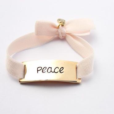 "Charm Bracelet ""Peace"" - Gold"