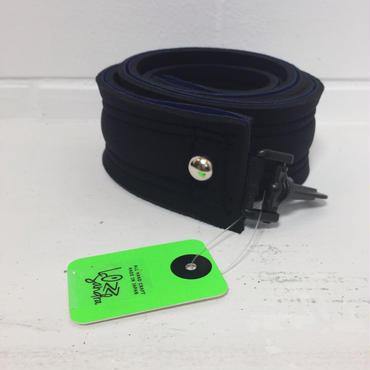 Lozz Sandra/shoulder strap /navy x black /silver studs