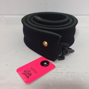 Lozz Sandra/shoulder strap /olive x black /gold studs
