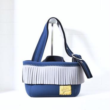 Lozz Sandra/fringeminitotebag/Grey fringe