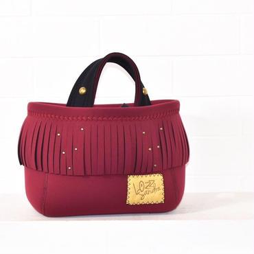 Lozz Sandra/fringeminitote bag/All Burgundy