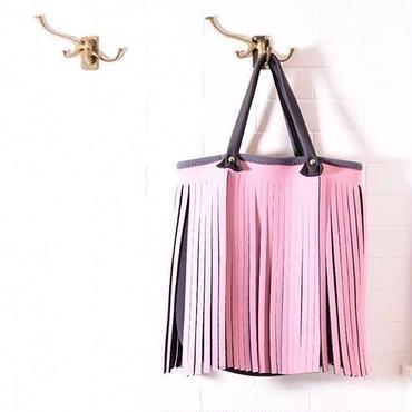 Lozz Sandra/Fringe big shoulder_baby pink