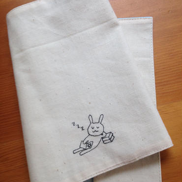 bookcover (sleeping rabbit)