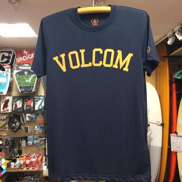 VOLCOM(ボルコム)ArchPencil Tシャツ A35215JH カラー/ネイビー マーク/オレンジ サイズ/ MEDIUM