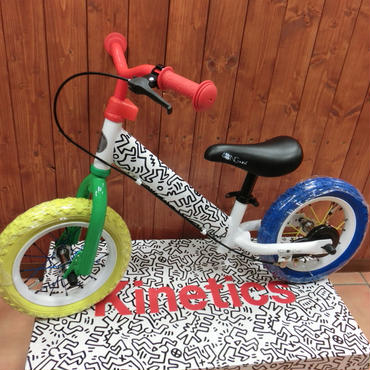 限定 4ING KICK BIKE Keith Haring × Kinetics WHITE