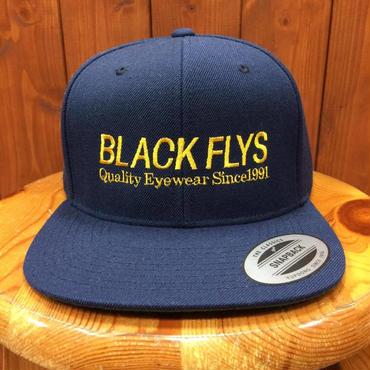 BLACKFLYS(ブラックフライ)スナップバックタイプ キャップ TRADE NAVY