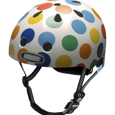 NUTCASE ヘルメットLITTLE NUTTY Dots(ドッツ) サイズXS