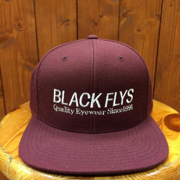 BLACKFLYS(ブラックフライ)スナップバックタイプ キャップ TRADE MAROON