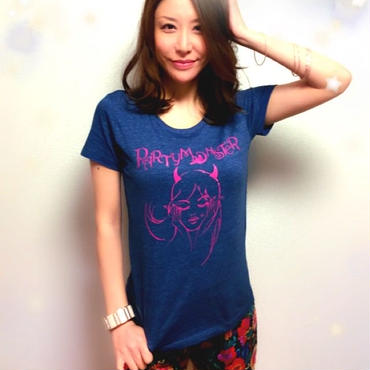 【sold out】Tシャツ(ネイビー)残りわずか♡
