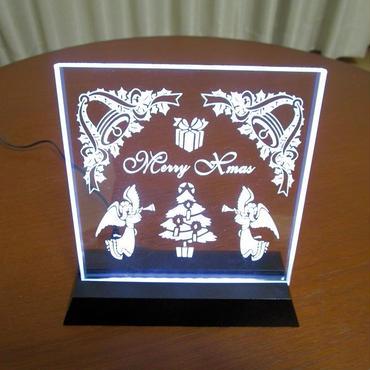 LED高透過ガラスパネルセット (クリスマスver)