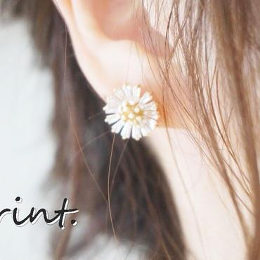 *最新作*Clear flowerピアス