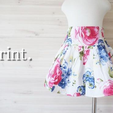 *大人気商品再販*flowerフレアスカート《90~110》