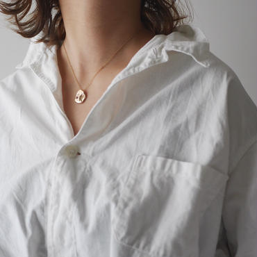 Flow necklace-gold-