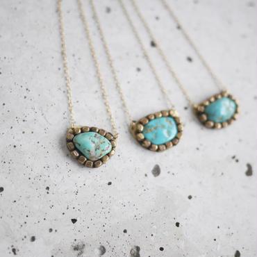 Gemstone necklace「Turquoise」