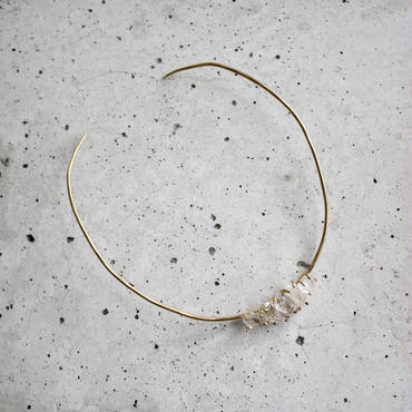 5 Harkimer diamond tiny choker