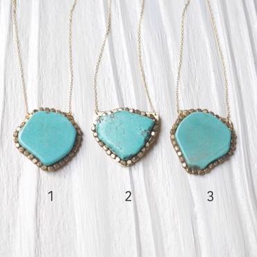 Gemstoneネックレス「Turquoise」
