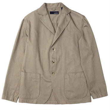 "LARDINI(ラルディーニ)""Cotton Twill 3B Shirt Jacket"""