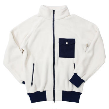 "Battenwear(バテンウェア)""WARM-UP FLEECE""IVORY【2015 F/W】"