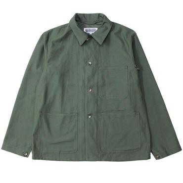"Engineered Garments WORKADAY(エンジニアード ガーメンツ ワーカーデイ)""Utility Jacket - Cotton Reversed Sateen"""