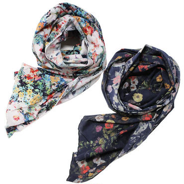 "Engineered Garments(エンジニアード ガーメンツ)""Long Scarf - Floral Sheeting"""