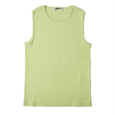 "Ladies' /AURALEE(レディース オーラリー)""HIGH GAUGE RIB KNIT SLEEVELESS"""
