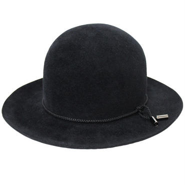 "KIJIMA TAKAYUKI(キジマ タカユキ)""RABBIT FUR FELT BOWLER HAT[No.162817]"""