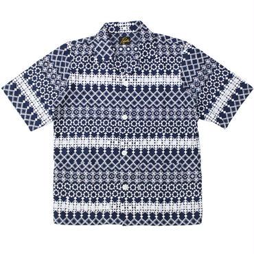 "NEEDLES(ニードルス)""Cabana Shirt - Cotton Cloth / Rayon Emb."""