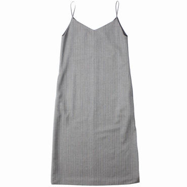 "Ladies' /AURALEE(レディース オーラリー)""WOOL SILK HERRINGBONE SLIP DRESS"""