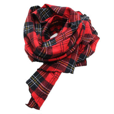 "Engineered Garments(エンジニアード ガーメンツ)""Long Scarf - Plaid Flannel"""