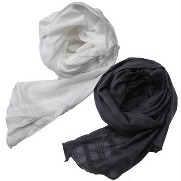 "Engineered Garments(エンジニアード ガーメンツ)""Long Scarf - Window Pane Cotton Dobby"""