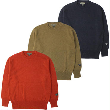 "Nigel Cabourn(ナイジェルケーボン)""40s C.NECK SWEATER (WASHABLE/W)"""