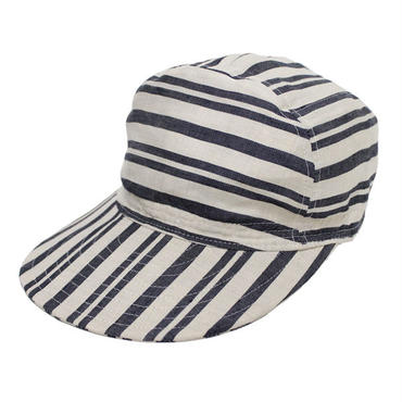 "Nigel Cabourn(ナイジェルケーボン)""CYCLING CAP [LINE HICKORY STRIPE]"""