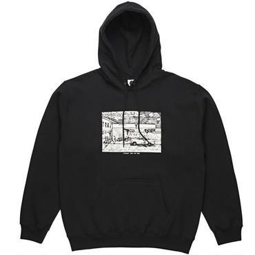 "POLAR SKATE CO.(ポーラー スケート カンパニー)""STRAIGHT FROM THE HOOD HOODIE"""