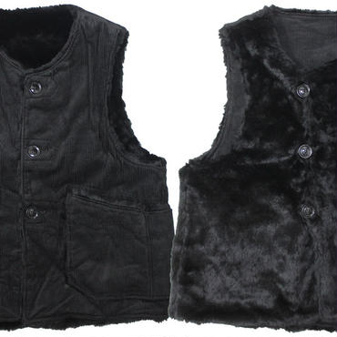 "ENGINEERED GARMENTS(エンジニアードガーメンツ)""Over Vest - 8W Corduroy"""