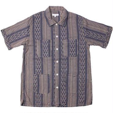 "Engineered Garments(エンジニアードガーメンツ)""Camp Shirt - Multi St. Jacquard"""