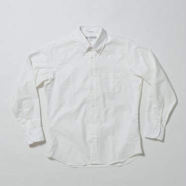 INDIVIDUALIZED SHIRTS(インディビジュアライズドシャツ)- STANDARD FIT L/S -WHITE