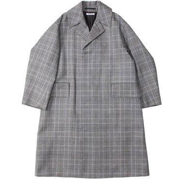 "Ladies' /AURALEE(レディース オーラリー)""DOUBLE FACE CHECK LONG COAT"""